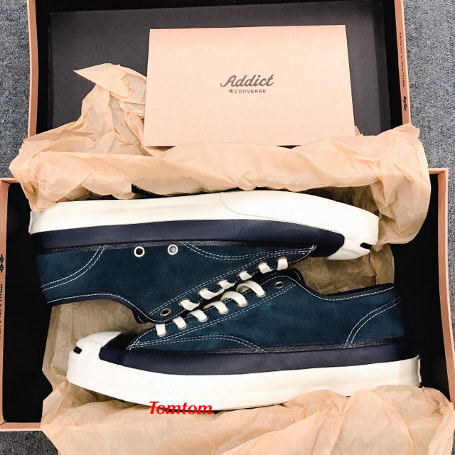 76445f617646 N.HOOLYWOOD - CONVERSE ADDICT JACK PURCELL NH Navyの通販 by Tomtom s ...