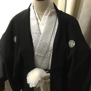 成人式間に合う 袴セット 成人式男性 結婚式 紋付 紋服(着物)