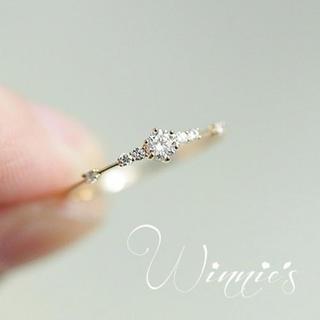 大きめサイズ 21 22号リング 指輪 婚約指輪 ダイヤ ジルコニア(リング(指輪))