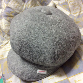 シマムラ(しまむら)の女児キャスケット56センチ❣️グレー(帽子)