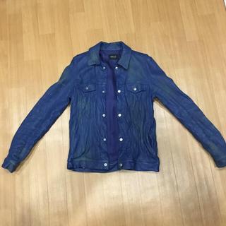 ウィンアンドサンズ(Win&Sons)のディレイのシワ加工皮ジャケット(レザージャケット)