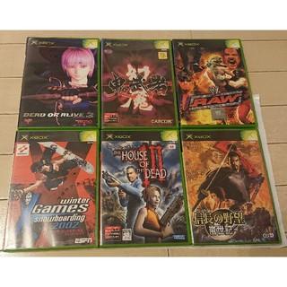 エックスボックス(Xbox)のXbox ソフト6枚組(家庭用ゲームソフト)