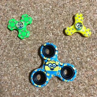 ミニオン(ミニオン)のミニオンズ  ハンドスピナー 3個セット(知育玩具)