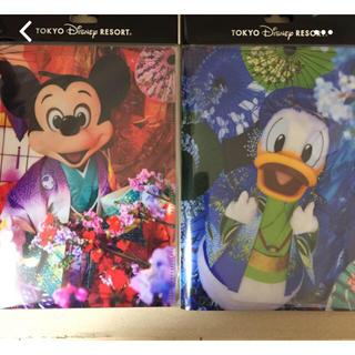 ディズニー(Disney)のイマジニング ポストカード ダブルポストカードホルダー 2点セット(その他)