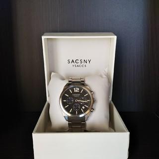 サクスニーイザック(SACSNY Y'SACCS)のSACSNY  YSACCS  メンズ腕時計(腕時計(アナログ))