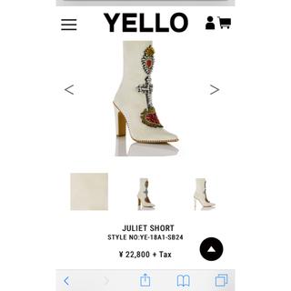 イエローブーツ(Yellow boots)のYELLO ジュリエットショート ブーツ(ブーツ)