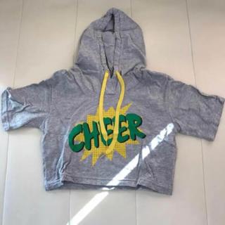 チアー(CHEER)のフード付 Tシャツ(Tシャツ(半袖/袖なし))