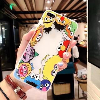 新品◼️クリアー エルモ クッキーモンスターセサミストリート iPhoneケース