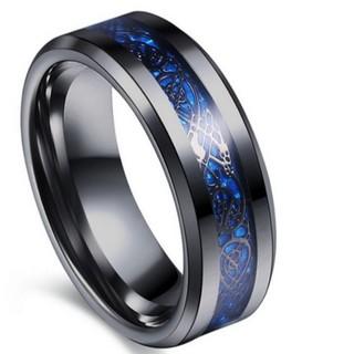 ブルーラインブラックリング(リング(指輪))