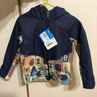コロンビア(Columbia)のコロンビア columbia ジャンバー キッズ フリース 100cm コート(ジャケット/上着)