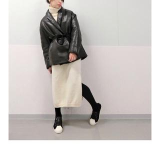 イザベルマラン(Isabel Marant)のHana様専用イザベルマラン ラムレザージャケット ベルト付き(ライダースジャケット)