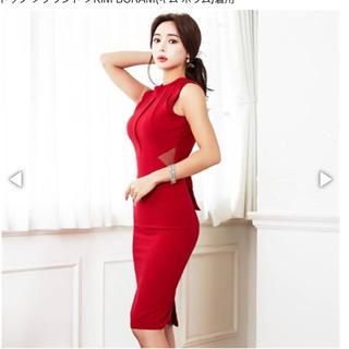デイジーストア(dazzy store)のキャバ ドレス バックリボン(ミディアムドレス)