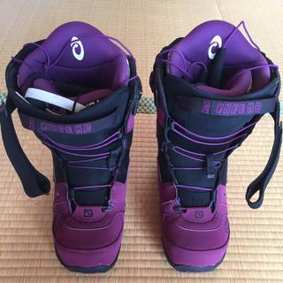 ディーラックス(DEELUXE)のディーラックス エンパイア パープル 25.5センチ(ブーツ)