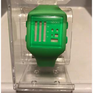 ヌーカ(NOOKA)のnooka ヌーカ デジタル腕時計 限定500本 希少品(腕時計(デジタル))