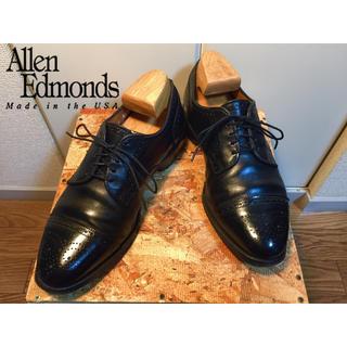アレンエドモンズ(Allen Edmonds)の20)アレンエドモンズ/Allen Edmonds/黒/8/ストレート/26cm(ドレス/ビジネス)
