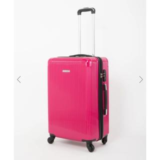 セシルマクビー(CECIL McBEE)のキャリーバッグ ピンク(スーツケース/キャリーバッグ)