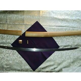 日本刀(真剣) 短刀(螺鈿の拵)と脇差し(武具)