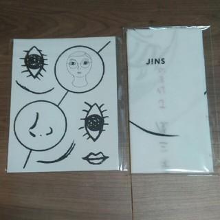 JINS 福笑い・手ぬぐい セット