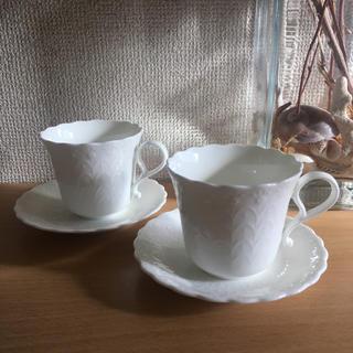 ナルミ(NARUMI)の日本製 NARUMI コーヒーカップセット(グラス/カップ)
