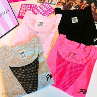 ヴィクトリアズシークレット(Victoria's Secret)の【新品】 VS PINK タンクトップ ショートパンツ(タンクトップ)