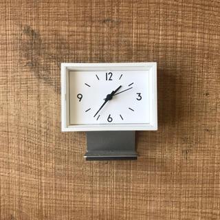 MUJI (無印良品) - MUJI 駅の時計 ミニ置き時計