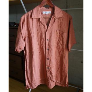 インディヴィジュアライズドシャツ(INDIVIDUALIZED SHIRTS)のINDIVIDUALIZED SHIRTS  オープンカラーリネン半袖シャツ(シャツ)