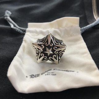 ビルウォールレザー(BILL WALL LEATHER)の【正規品】Bill Wall Leather × Beams Star Ring(リング(指輪))