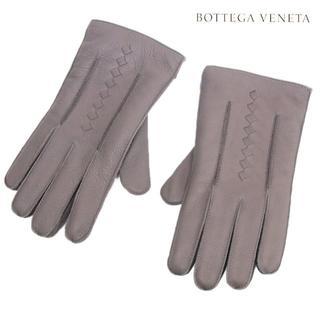 ボッテガヴェネタ(Bottega Veneta)の【13】BOTTEGA VENETA カシミヤ グレー 手袋 size 8.5(手袋)