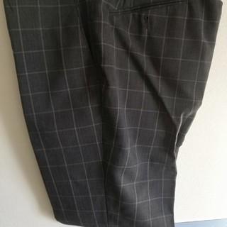 イオン(AEON)のチェックのスーツ系ズボン(スラックス/スーツパンツ)
