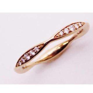 シャネル(CHANEL)のCHANEL シャネル 750PGカメリアコレクションダイヤモンドリング(リング(指輪))
