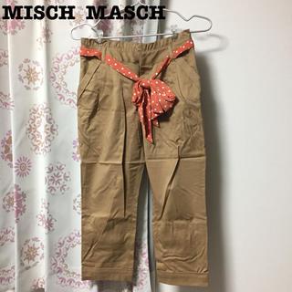 ミッシュマッシュ(MISCH MASCH)のMISCH MASCH♡ベルトつきクロップドパンツ ベージュ(クロップドパンツ)