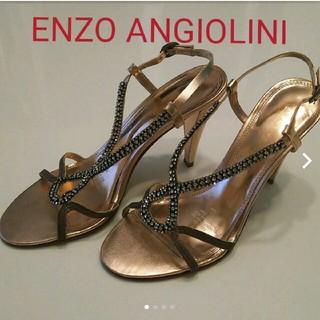 エンゾーアンジョリーニ(Enzo Angiolini)のENZO ANGIOLINIサンダル パーティ キラキラ フォーマル(サンダル)