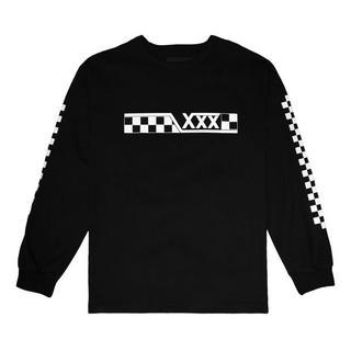 ジィヒステリックトリプルエックス(Thee Hysteric XXX)の新品 GOD SELECTION XXX L/S ブラック L (Tシャツ/カットソー(七分/長袖))