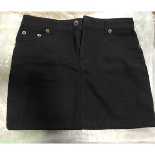 アイスー(i-SOOK)のi-sook スカート 黒(ミニスカート)