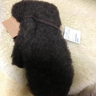 ユナイテッドアローズ(UNITED ARROWS)の新品タグ付き COLDBREAKER コールドブレイカー ミトン グローブ 手袋(手袋)