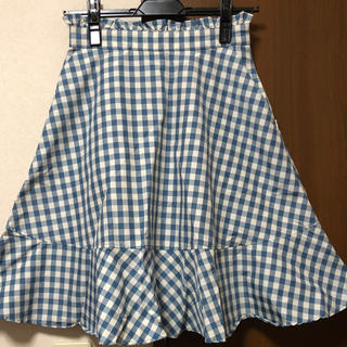 リズリサ(LIZ LISA)のLIZ LISA ギンガムチェックフレアスカート(ひざ丈スカート)
