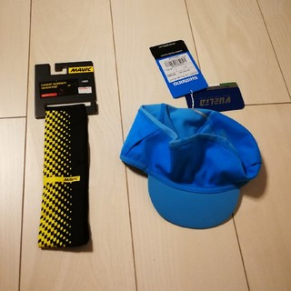 SHIMANO - Mavic Headbandとシマノエクストリームウィンターキャップ