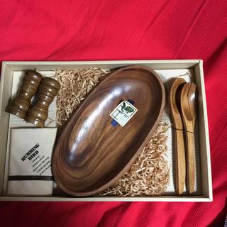 木製サラダボールセット(食器)
