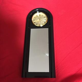 昭和レトロ、鏡付き壁掛け時計(掛時計/柱時計)