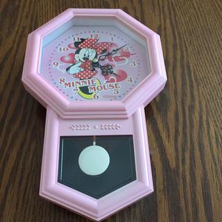 ディズニー(Disney)のミニーマウスの掛時計(掛時計/柱時計)