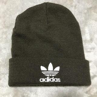 アディダス(adidas)のニット帽 ビーニー(ニット帽/ビーニー)