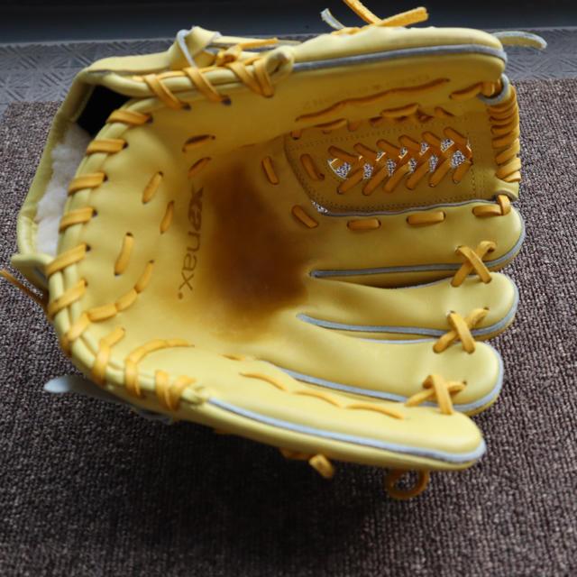 Xanax(ザナックス)の【超美品】ザナックス 硬式グローブ スポーツ/アウトドアの野球(グローブ)の商品写真