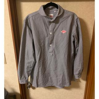 ダントン(DANTON)の【DANTON】丸襟プルオーバーシャツ 42サイズ Lサイズ!(シャツ)