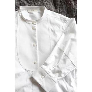 cd19061b1ae2 セリーヌ(celine)のセリーヌ タキシードシャツ size34(シャツ/ブラウス(長袖/