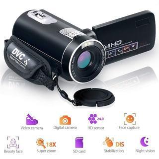 ビデオカメラ カムコーダー デジタルカメラ フルHD 18倍デジタルズーム ナイ(ビデオカメラ)