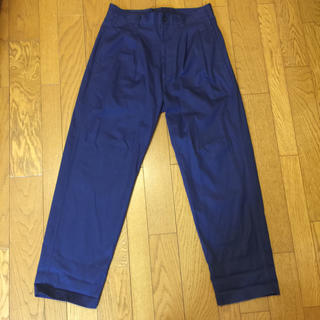 is-ness AH EDITORIAL WIDE CHINO PANTS