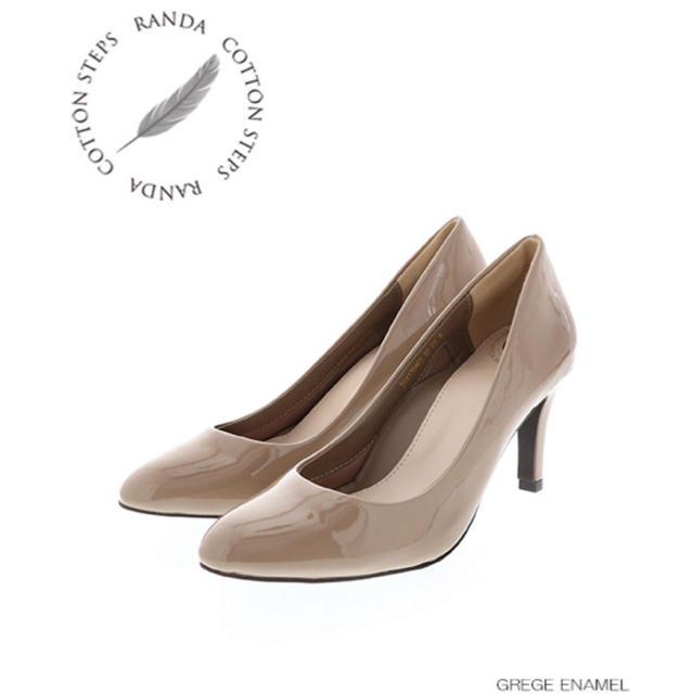 RANDA(ランダ)のRANDA/COTTON STEPS/走れる美脚パンプス レディースの靴/シューズ(ハイヒール/パンプス)の商品写真