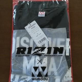 新品 RIZIN 会場限定 Tシャツ 黒1枚 Lサイズ(格闘技/プロレス)