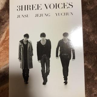 ジェイワイジェイ(JYJ)のJUNSU/JEJUNG/YUCHUN/3HREE VOICES〈4枚組〉値下げ(その他)