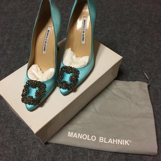 マノロブラニク(MANOLO BLAHNIK)のManolo Blahnik マノロ ブラニク 新品未使用 (ハイヒール/パンプス)